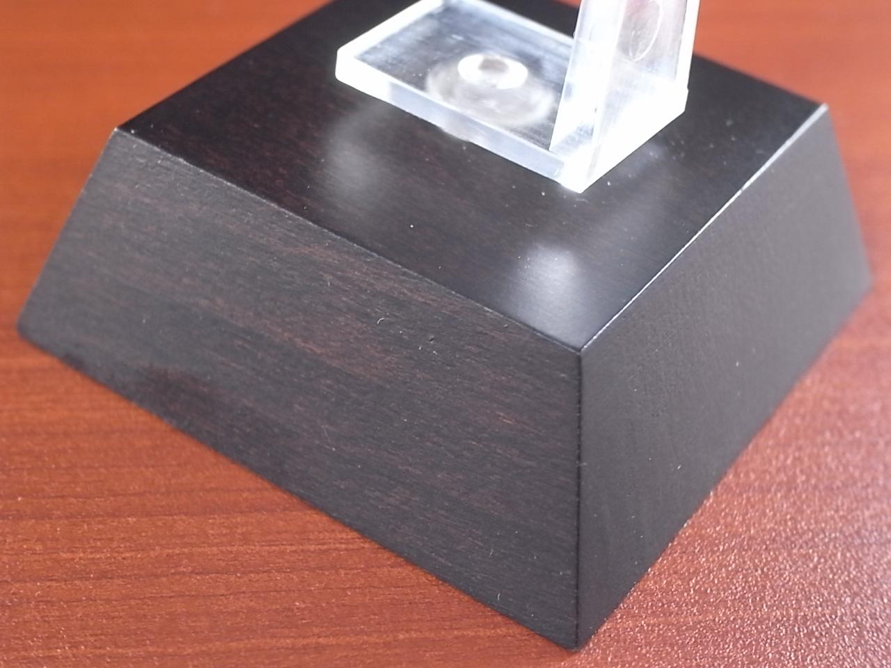 時計スタンド 木製 1本用の写真5枚目