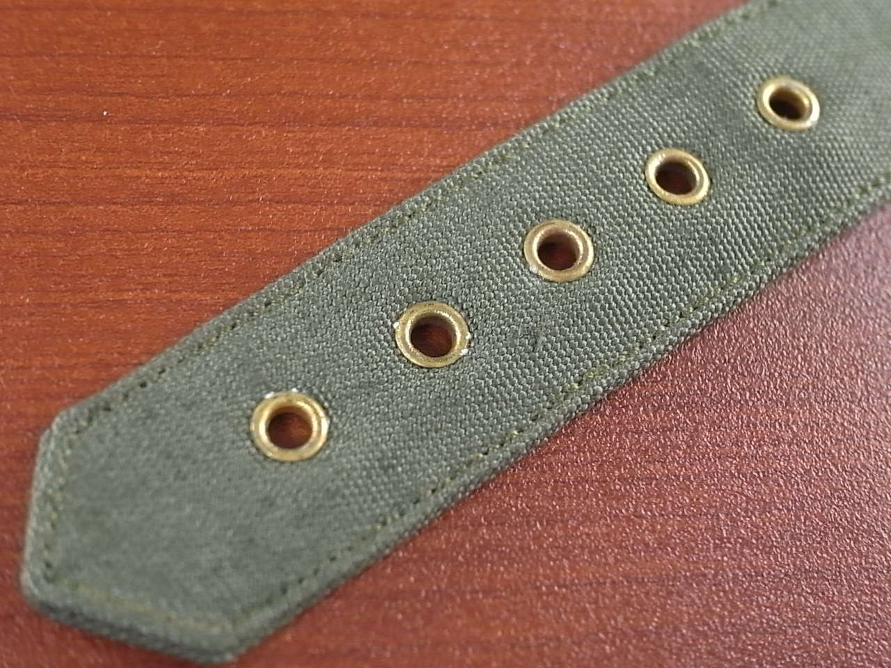 米軍 コットンベルト N.O.S. No.2 金色金具の写真4枚目