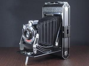コダック アールデコ 蛇腹カメラ SIX-20 ブラック