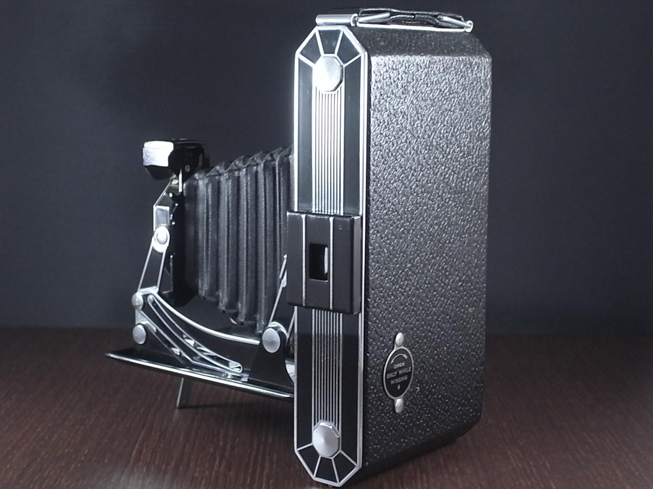 コダック アールデコ 蛇腹カメラ SIX-20 ブラックの写真3枚目