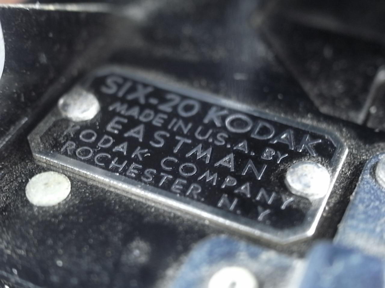 コダック アールデコ 蛇腹カメラ SIX-20 ブラックの写真4枚目