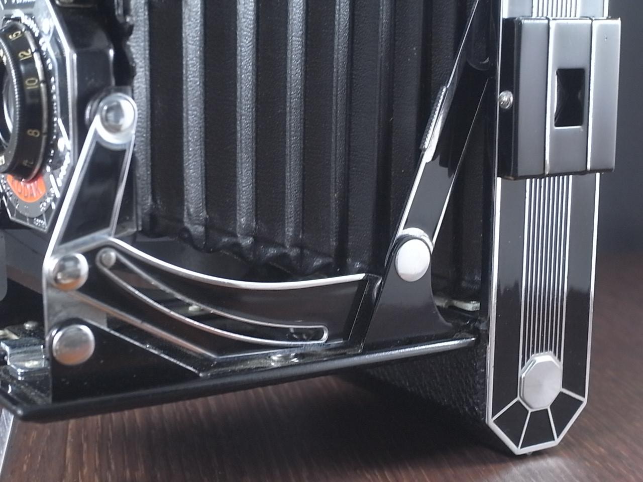 コダック アールデコ 蛇腹カメラ SIX-20 ブラックの写真5枚目