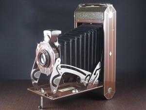コダック アールデコ 蛇腹カメラ SIX-16 ブラウン