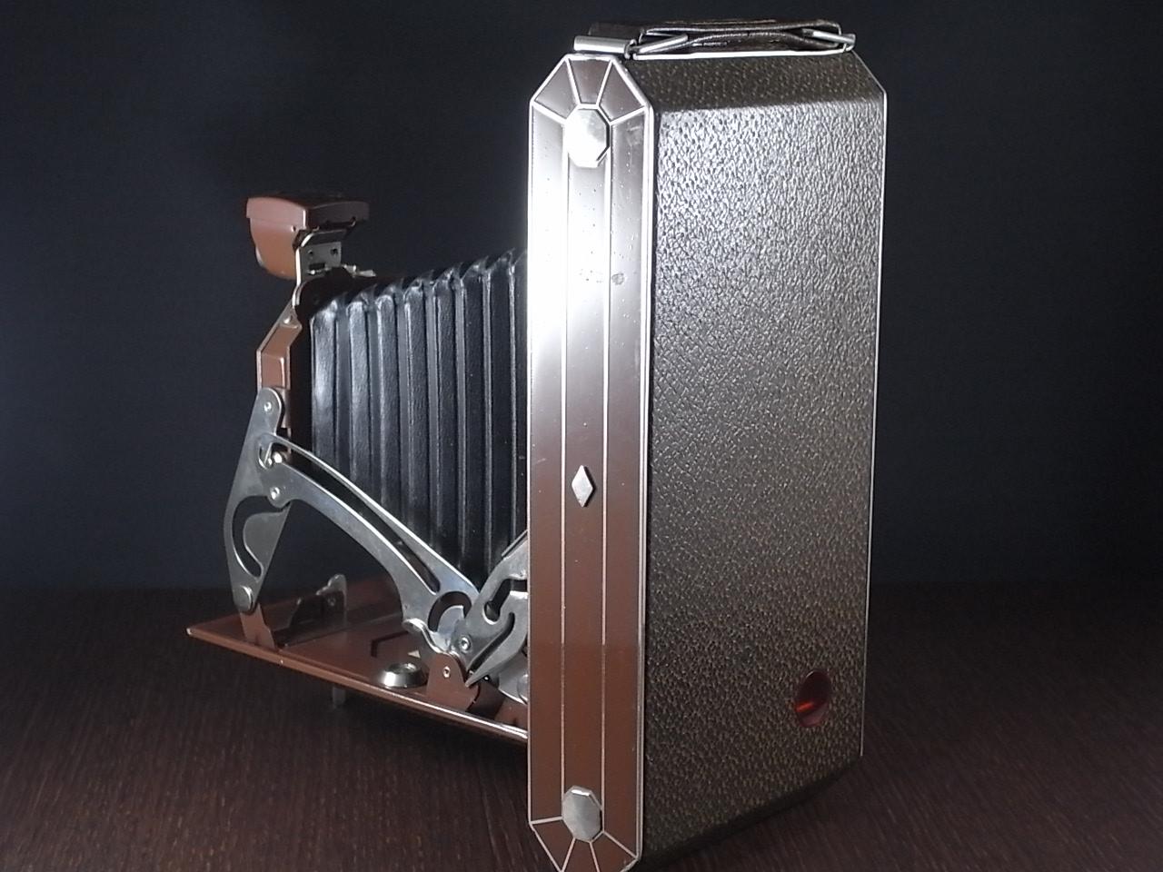 コダック アールデコ 蛇腹カメラ SIX-16 ブラウンの写真3枚目