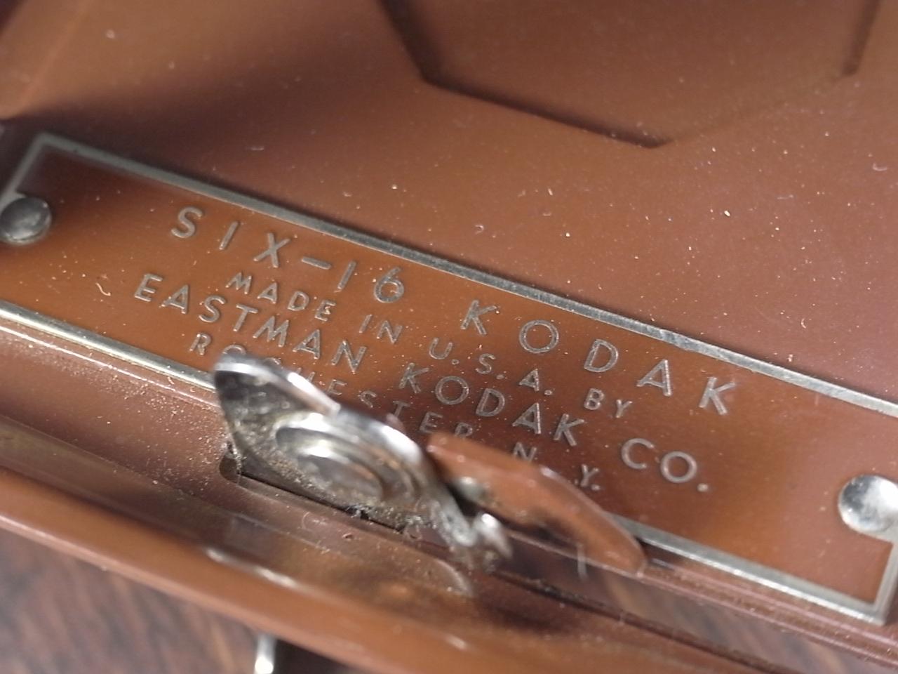 コダック アールデコ 蛇腹カメラ SIX-16 ブラウンの写真4枚目