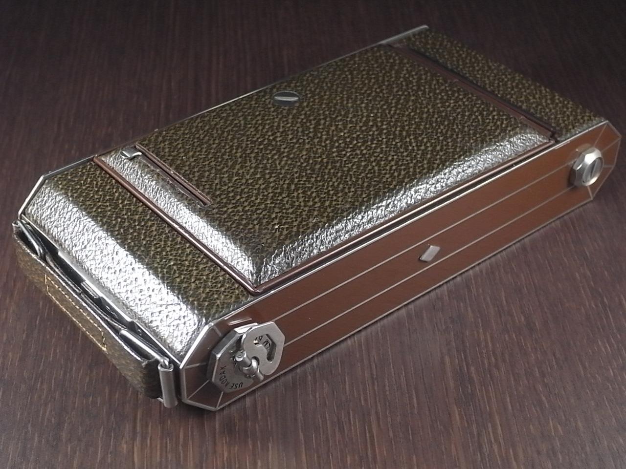 コダック アールデコ 蛇腹カメラ SIX-16 ブラウンの写真5枚目
