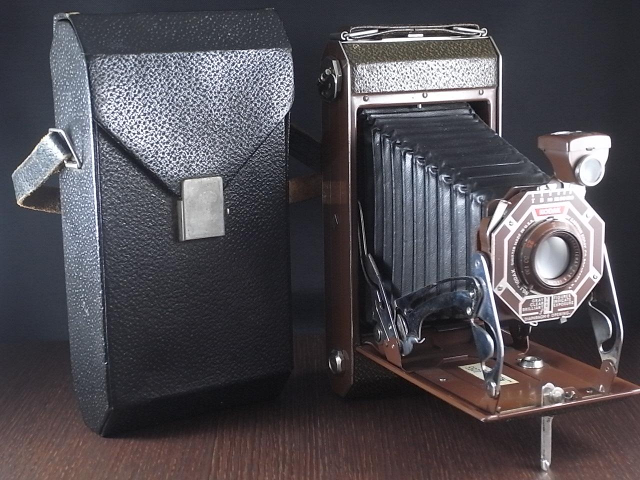 コダック アールデコ 蛇腹カメラ SIX-16 ブラウンの写真6枚目