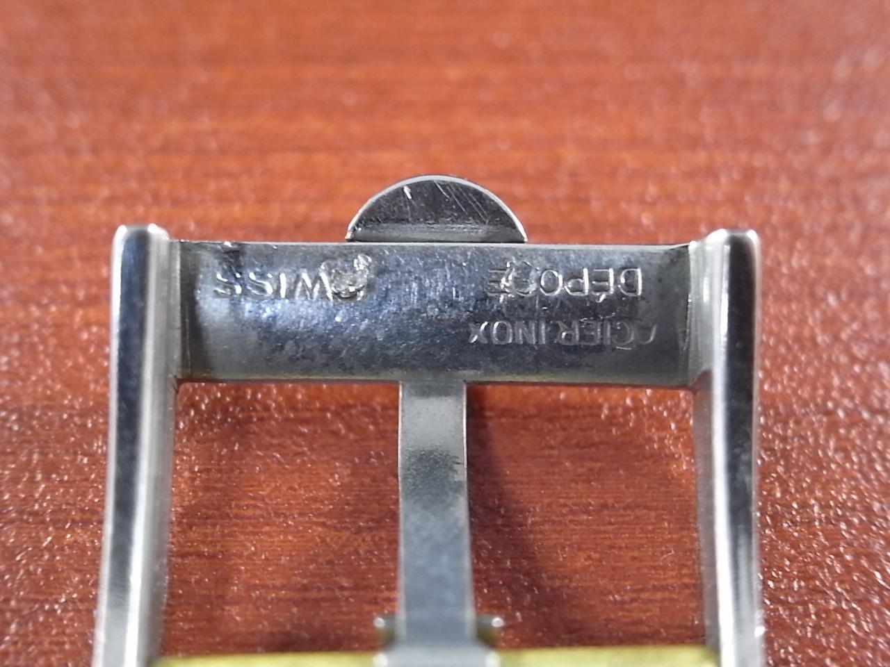 オメガ アンティーク尾錠 SS 14mm 1950年代の写真5枚目