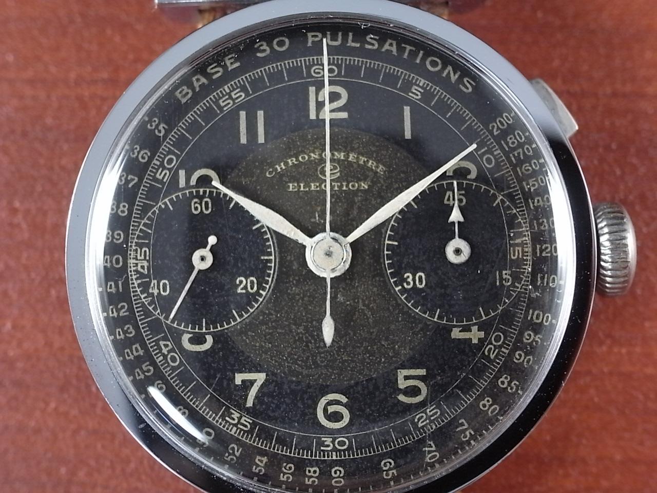 エレクション クロノグラフ シリンダーケース バルジュー22の写真2枚目