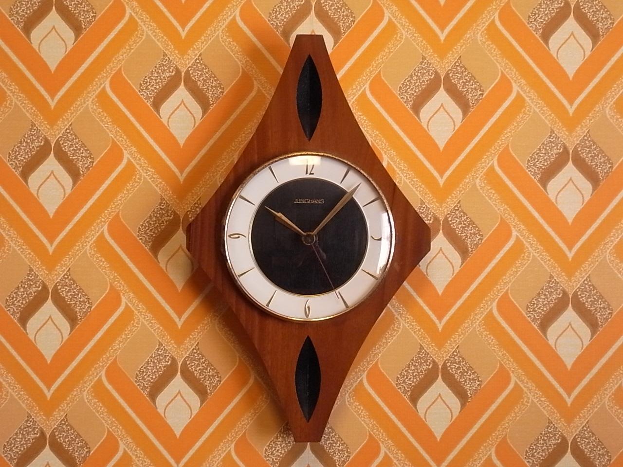 ユンハンス 木製ウォールクロック エレクトロニックのメイン写真