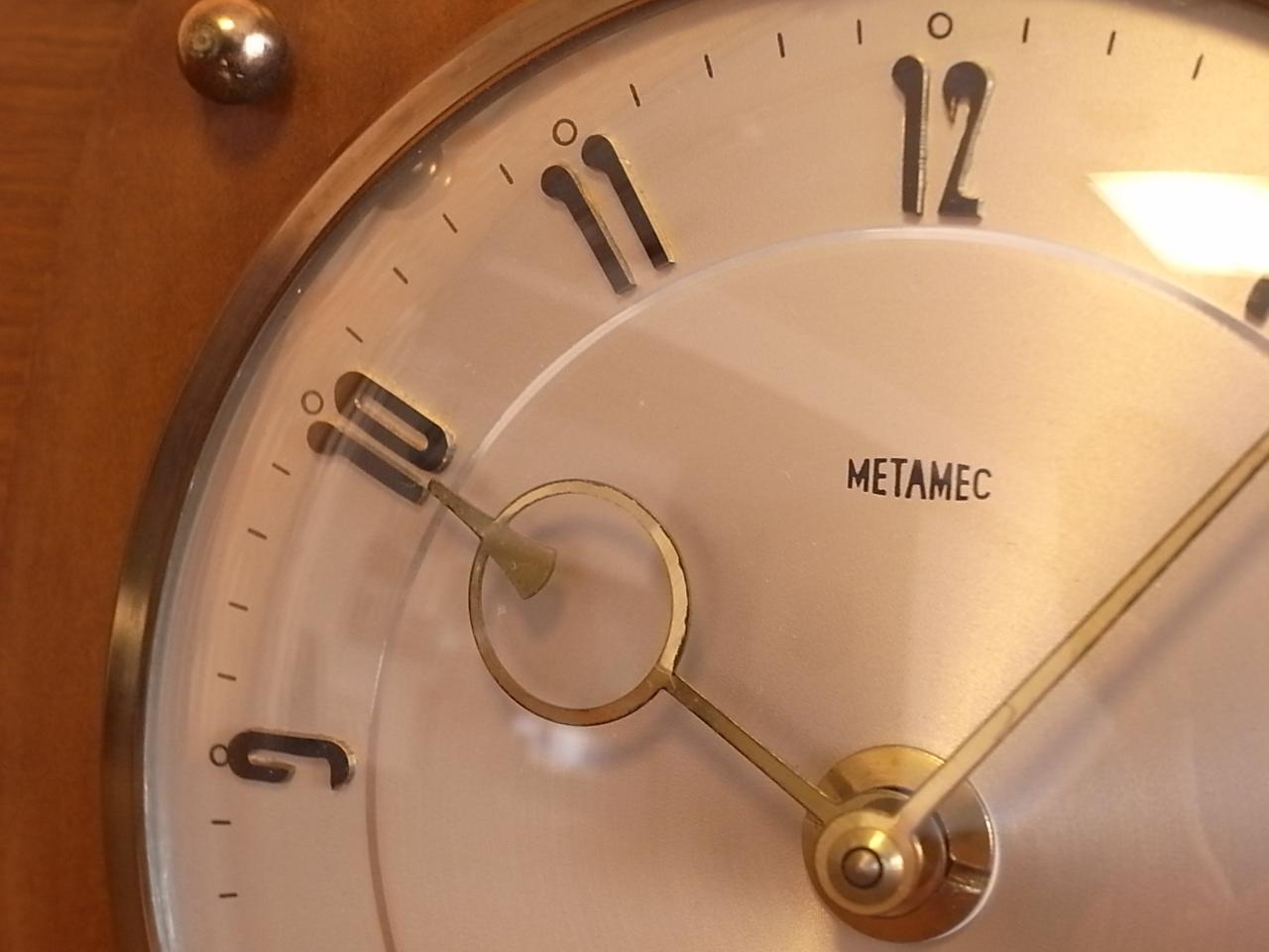 メタメック 8日巻き クロック トノー型の写真5枚目