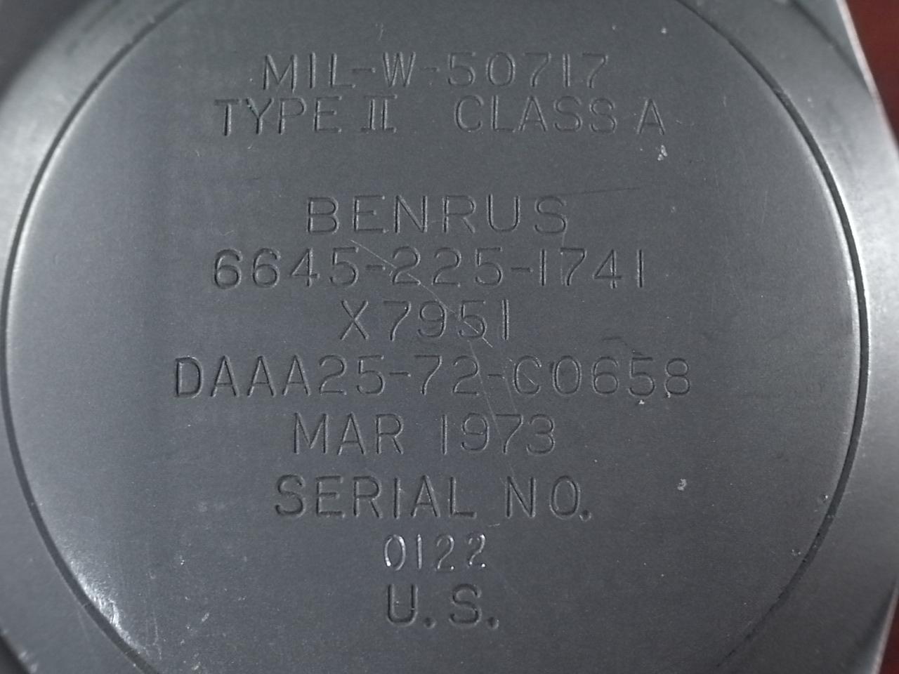 ベンラス ミリタリー 米海軍用 タイプⅡ クラスA 特殊部隊の写真4枚目