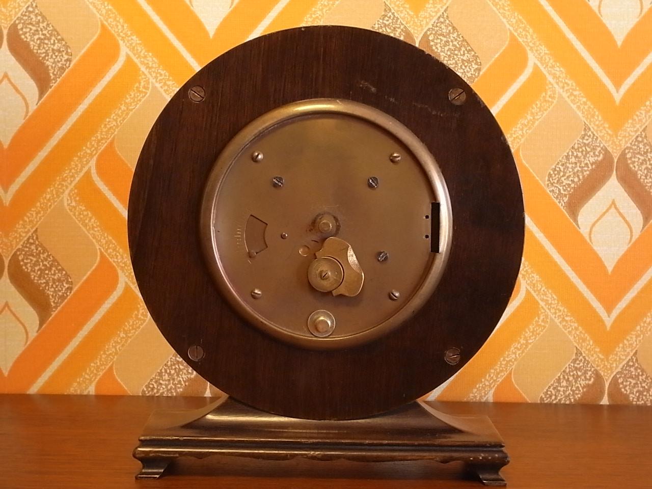 キンツレ アールデコ 木製クロック 1930年代の写真4枚目
