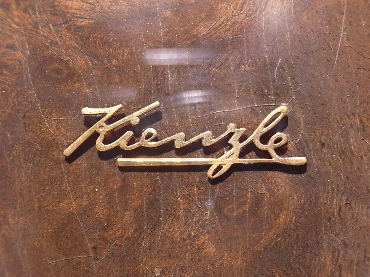 キンツレ アールデコ 木製クロック 1930年代の写真6枚目