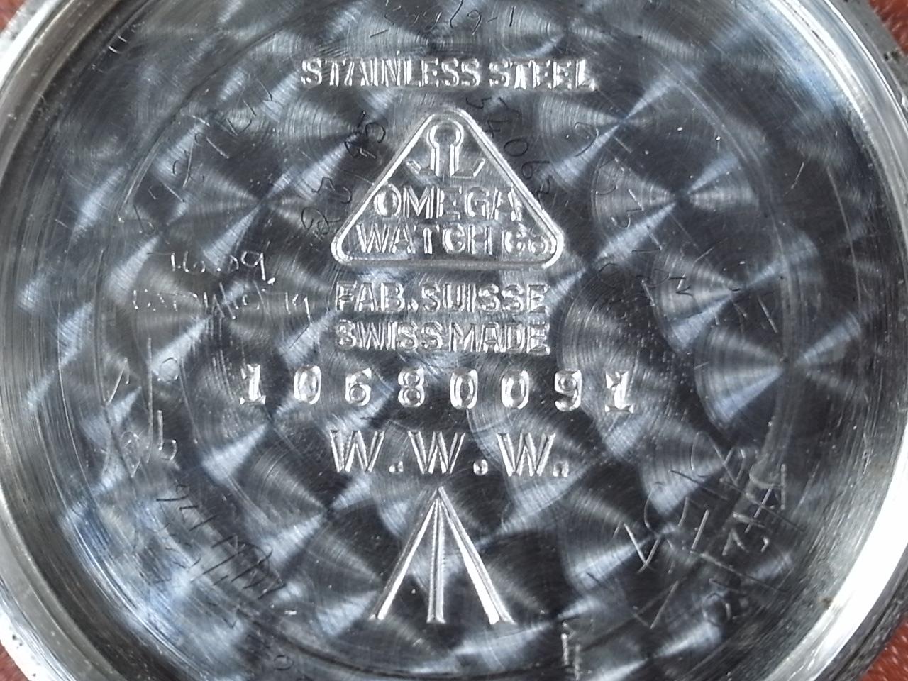 オメガ ミリタリー 英陸軍用 W.W.W. マニュアルワインド スモールセコンド スクリューバックの写真6枚目