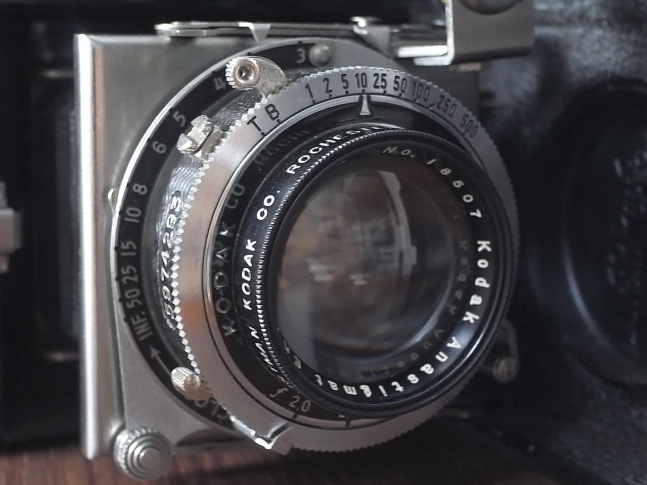 コダック アールデコカメラ バンタムスペシャル(前期)の写真2枚目