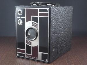 コダック No.2 ブローニー アールデコカメラ ブラック