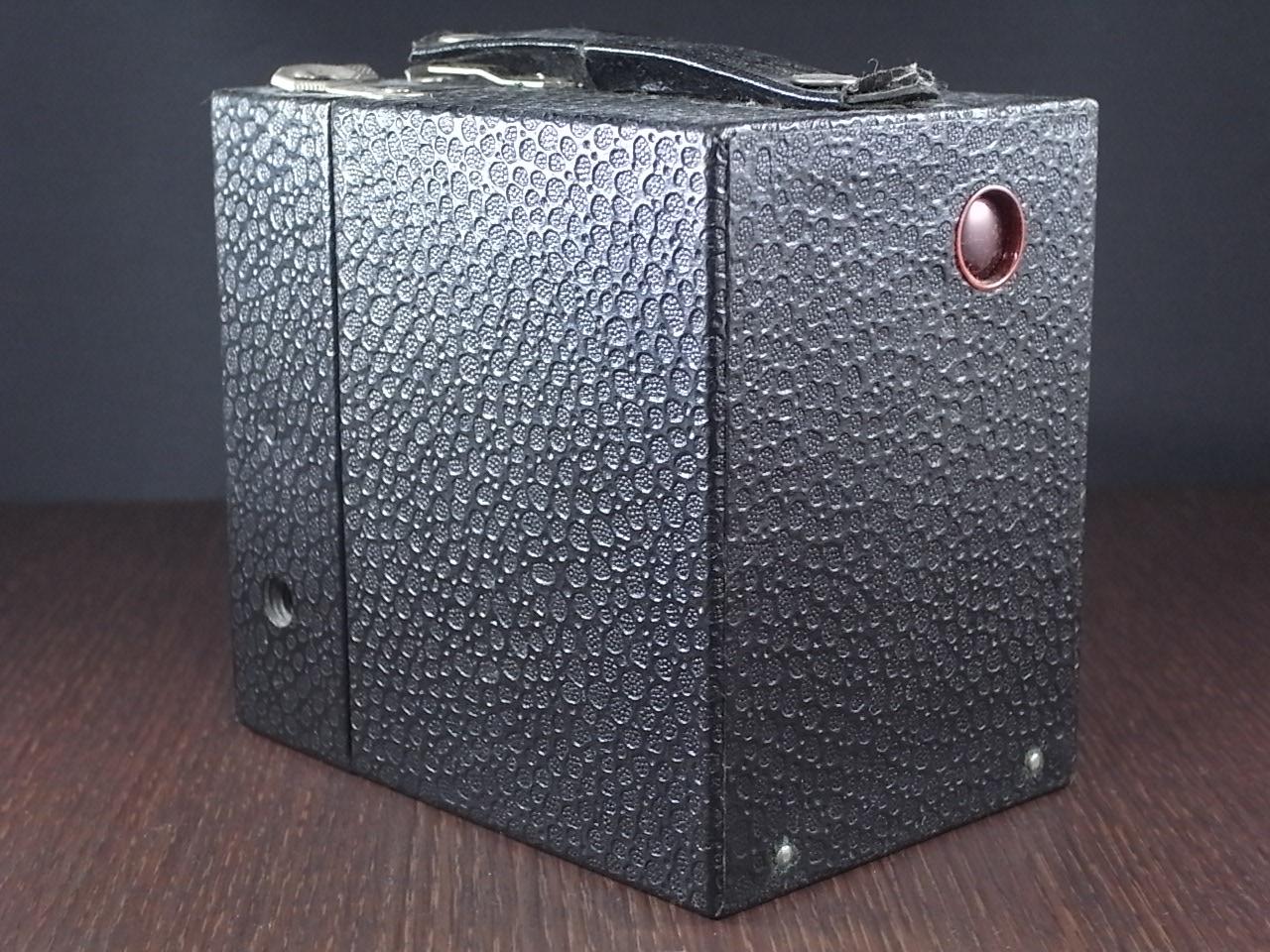 コダック No.2 ブローニー アールデコカメラ ブラックの写真3枚目