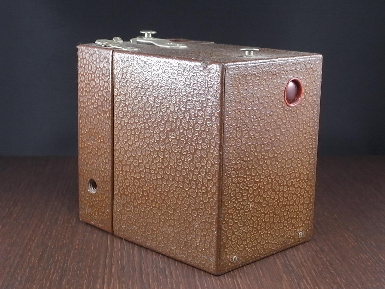 コダック No.2 ブローニー アールデコカメラ ブラウンの写真3枚目