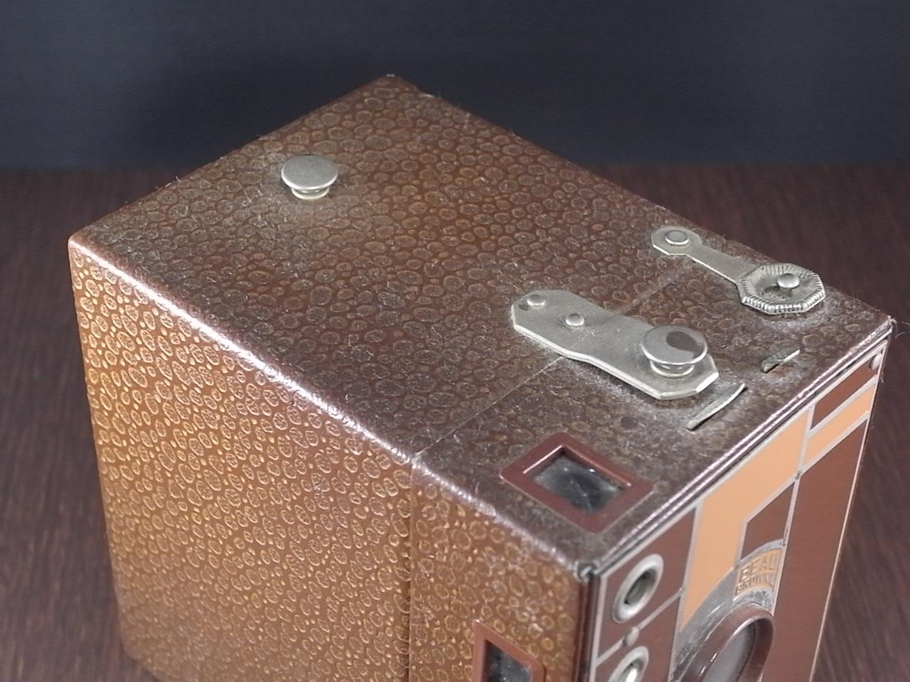 コダック No.2 ブローニー アールデコカメラ ブラウンの写真4枚目