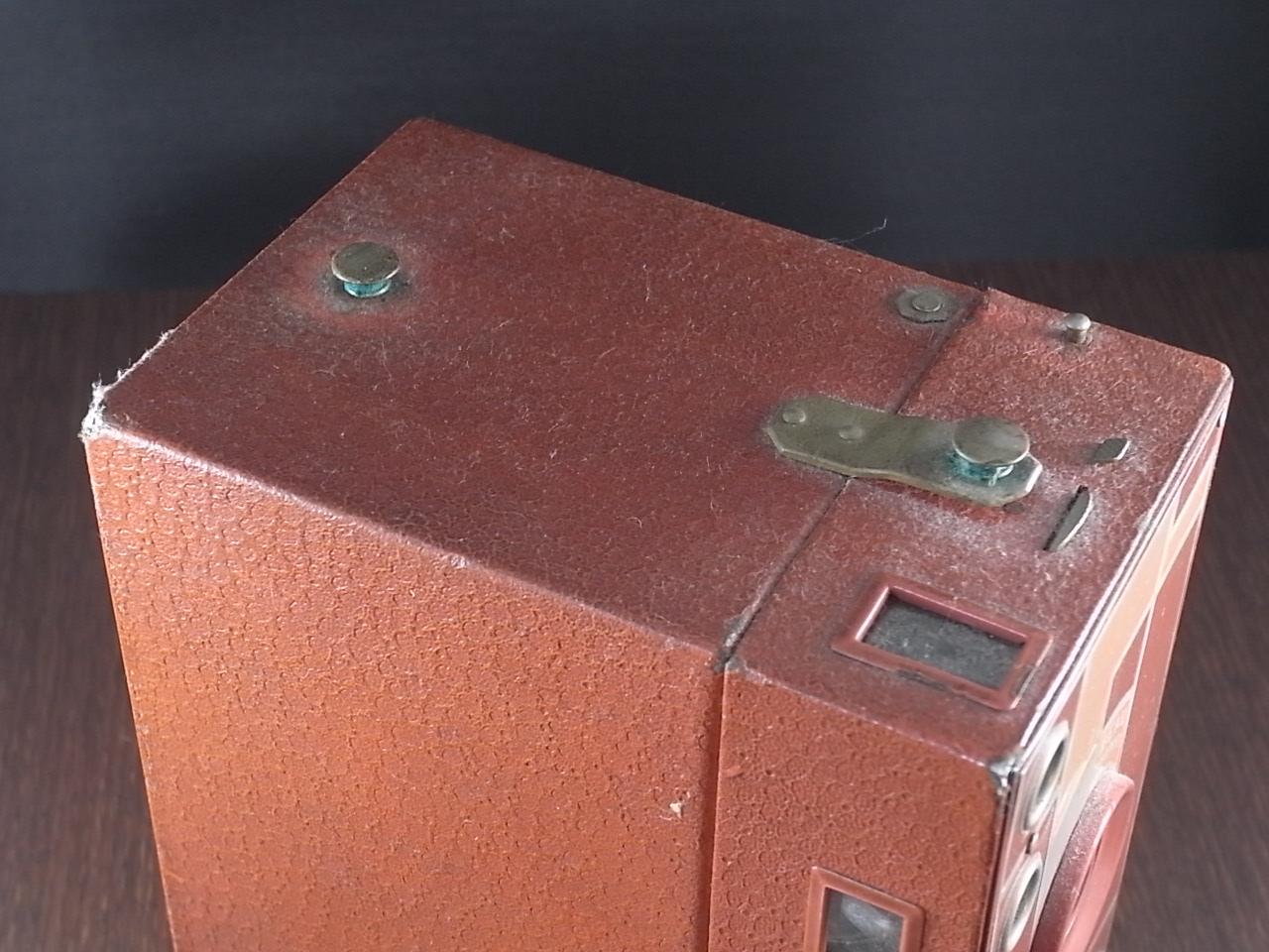 コダック No.2A ブローニー アールデコカメラ ローズの写真4枚目