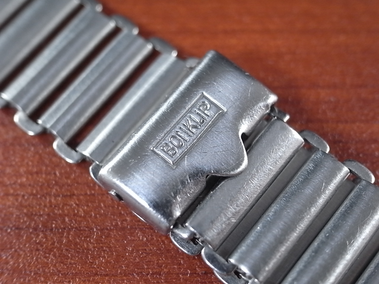ボンクリップ バンブーブレス SS ブロック体ロゴ 13mmタイプ 16mm BONKLIPの写真2枚目