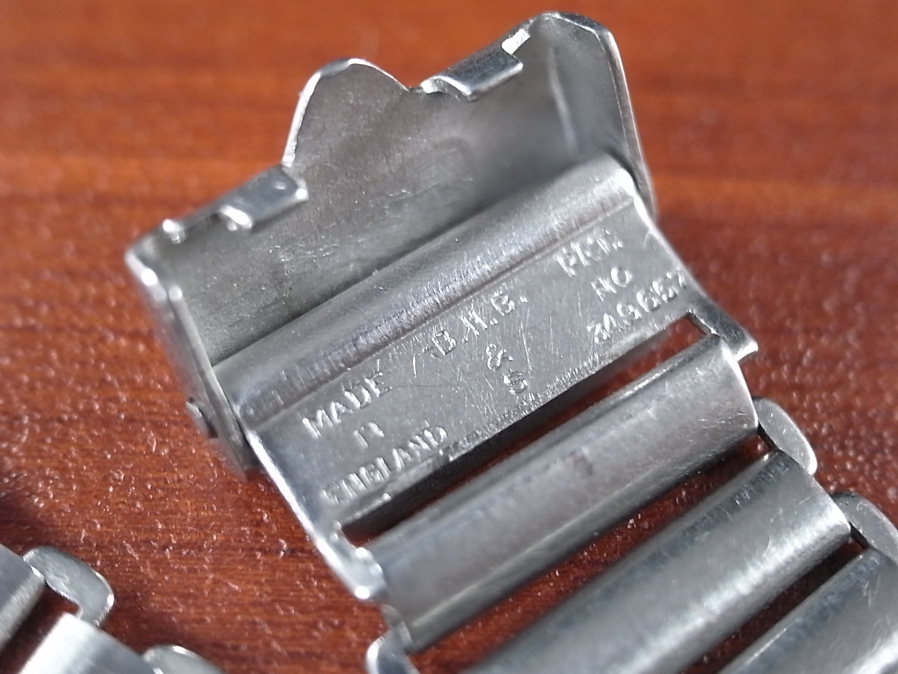 ボンクリップ バンブーブレス SS ブロック体ロゴ 13mmタイプ 16mm BONKLIPの写真3枚目