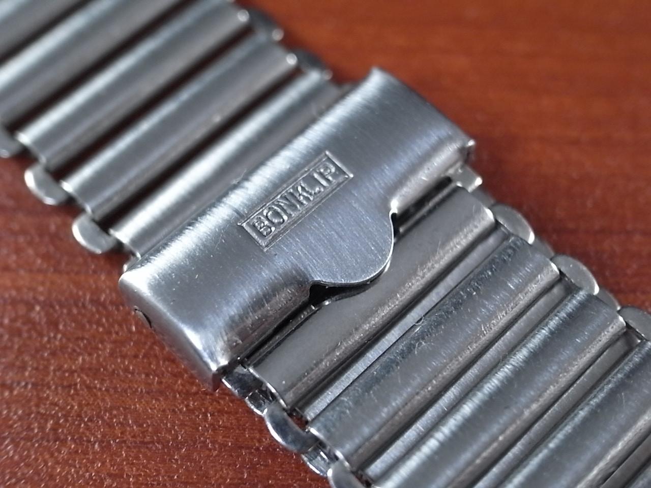 ボンクリップ バンブーブレス SS ブロック体ロゴ 16mmタイプ 16mm BONKLIPの写真2枚目