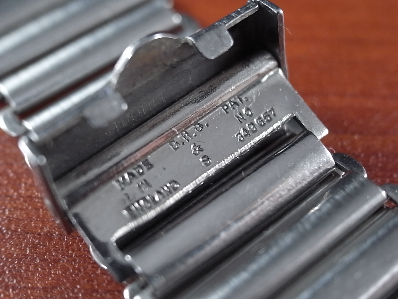 ボンクリップ バンブーブレス SS ブロック体ロゴ 16mmタイプ 16mm BONKLIPの写真3枚目