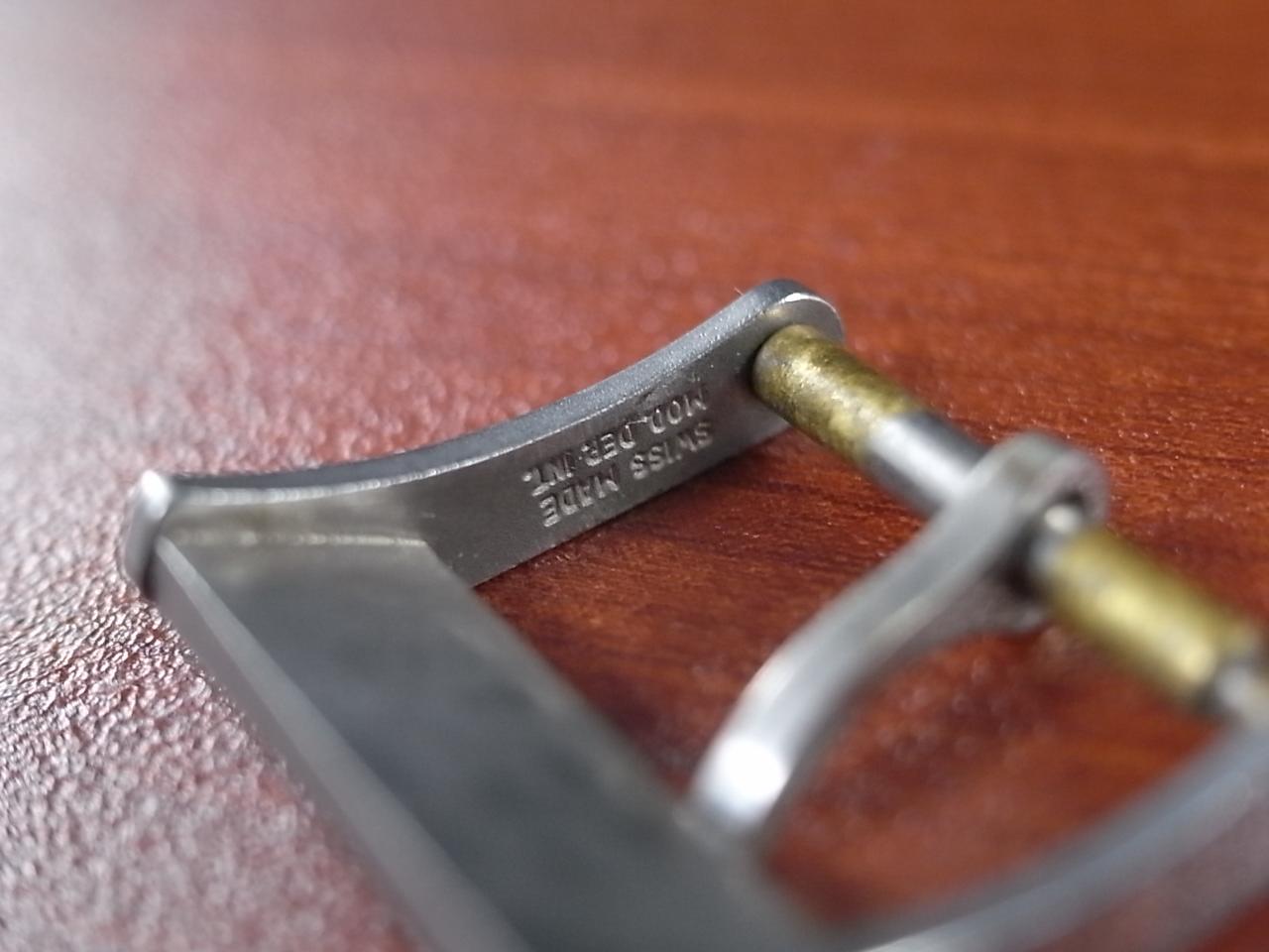 ジュベニア アンティーク尾錠 SS 14mm 1960-70年代の写真5枚目