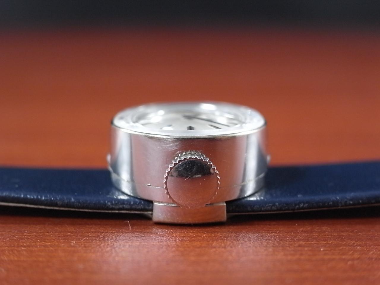 ロレックス レディス カメレオン 金無垢 14KWG カットガラス オリジナルベルト・BOX付の写真3枚目