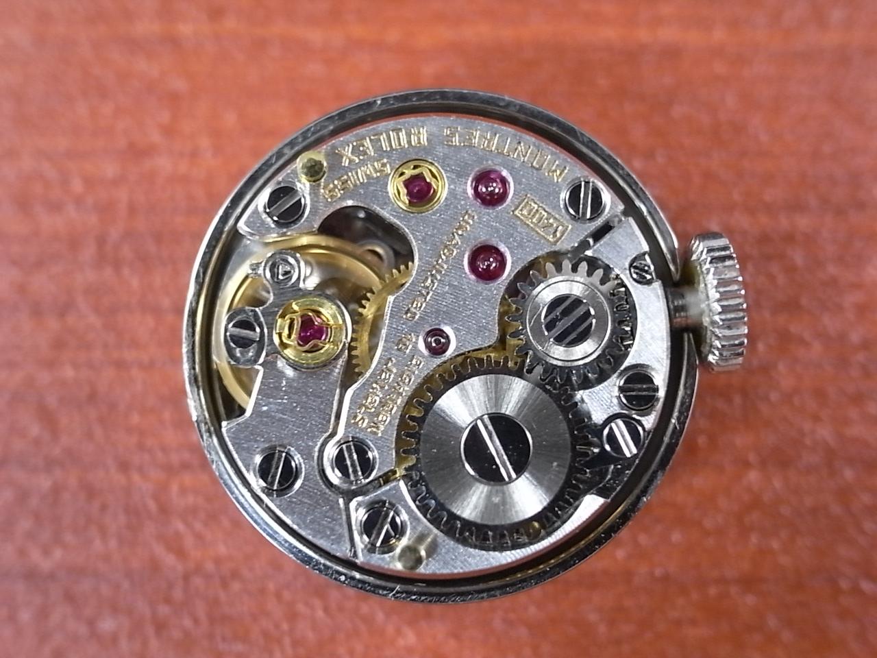 ロレックス レディス 18KWG プレシジョン カットガラス Cal.1400 1960年代の写真5枚目
