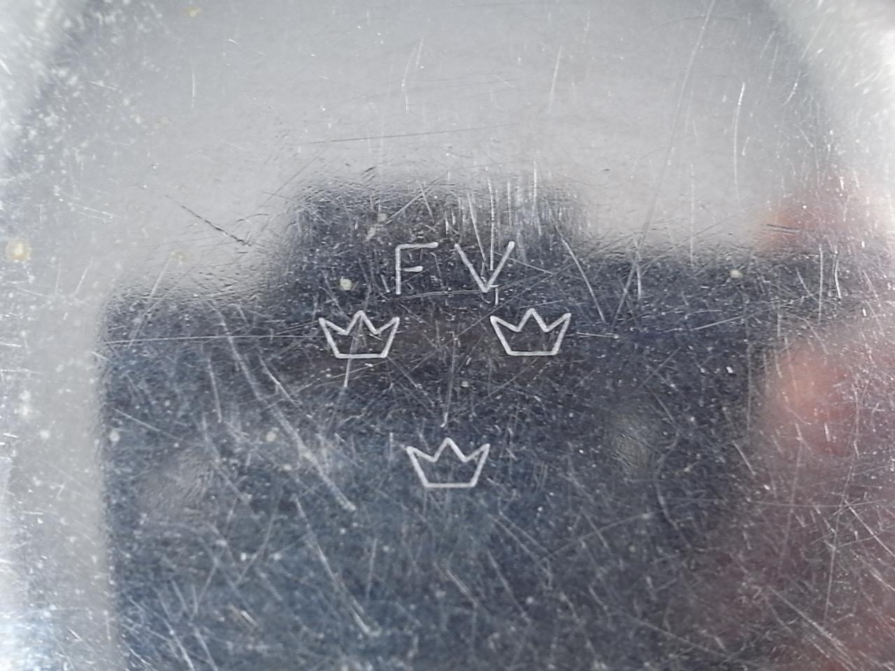 ミネルバ ミリタリー ポケットウオッチ クロノグラフ スウェーデン軍用 スリークラウンズの写真6枚目