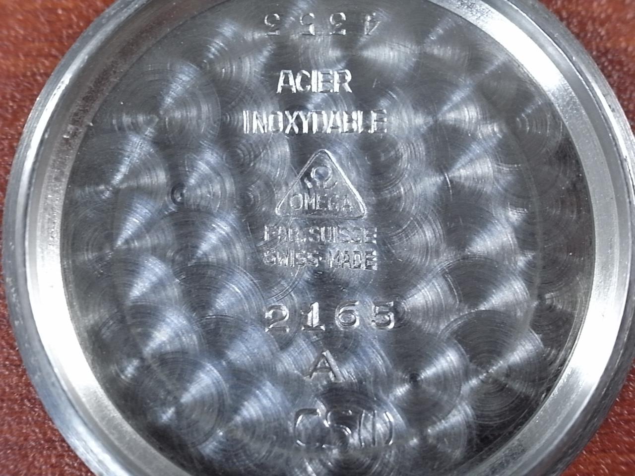 オメガ ボーイズ Cal.26.5 T3 スモールセコンド スクリューバック 1940年製の写真6枚目