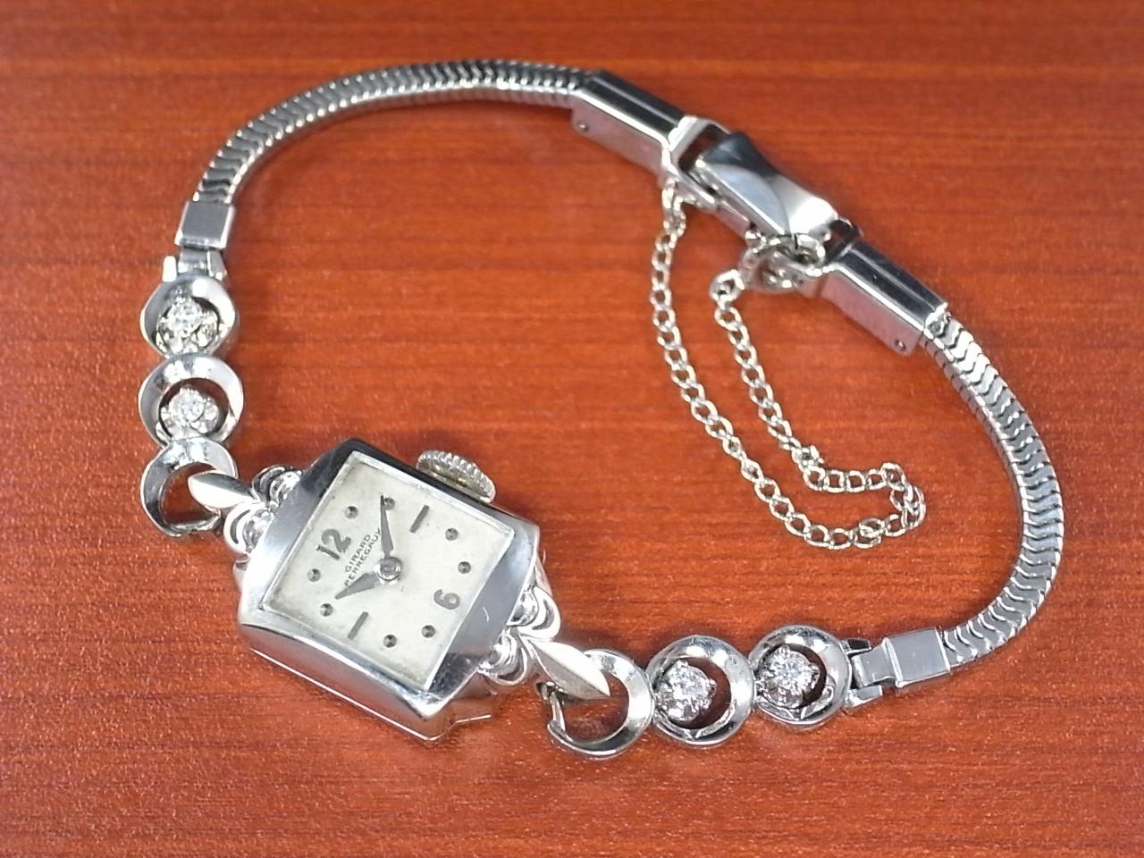 ジラール・ペルゴ レディス 14KWG ダイヤモンドの写真2枚目