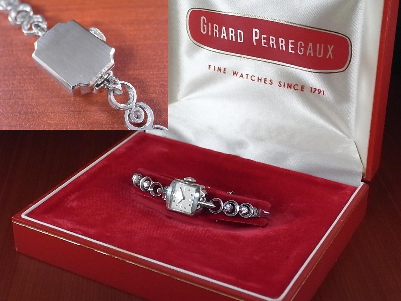 ジラール・ペルゴ レディス 14KWG ダイヤモンドの写真4枚目