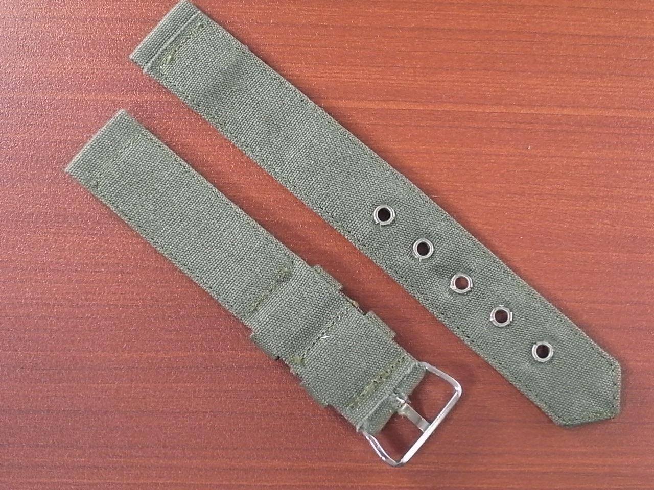 米軍 コットンベルト N.O.S. No.4 銀色金具の写真2枚目