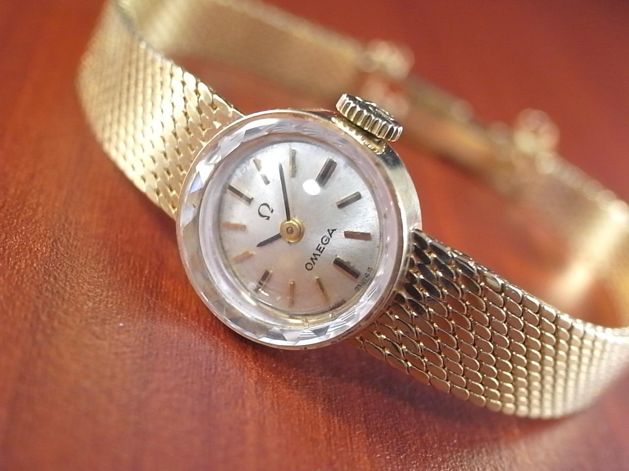 info for ca86a 18242 オメガ レディース 14KYG カットガラス ブレスレット 1960年代 ...