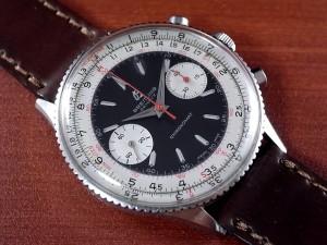 ブライトリング クロノマット セカンド ブラックDL Ref.808 ビーナス175 1950年代