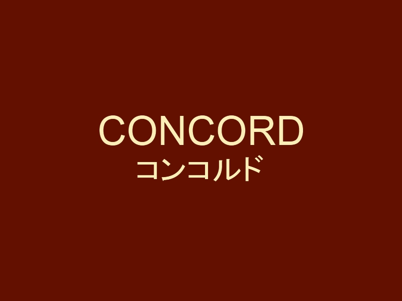 CONCORDO コンコルドの歴史