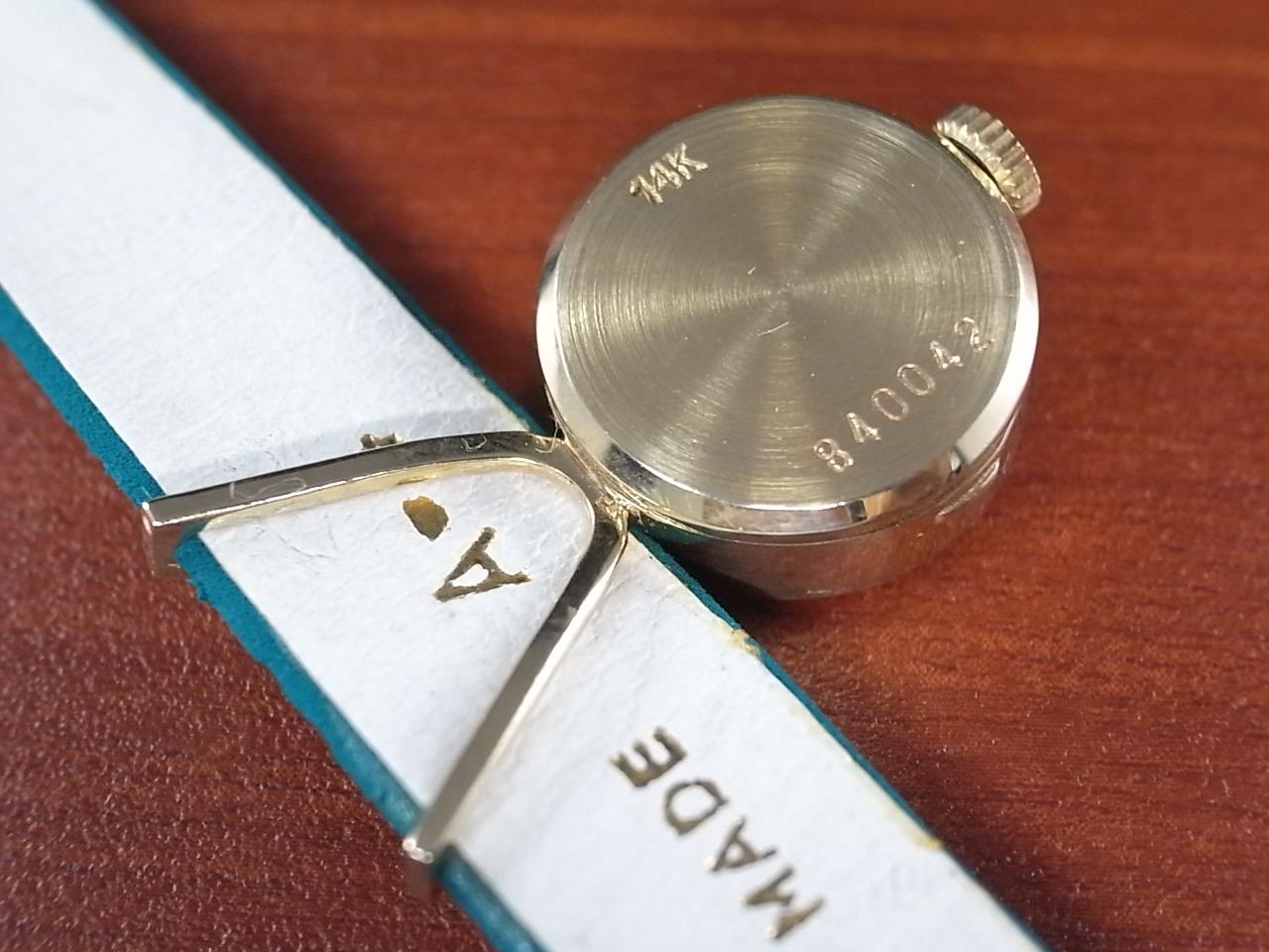 ユニバーサル・ジュネーブ レディース 14KYG カメレオン ベルト・ボックス付の写真4枚目