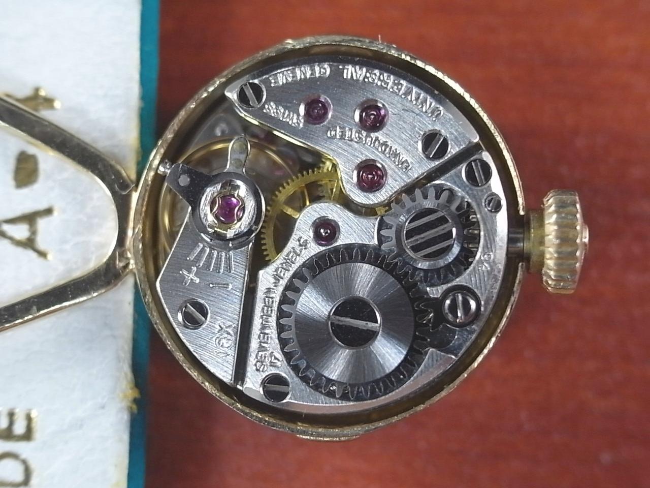 ユニバーサル・ジュネーブ レディース 14KYG カメレオン ベルト・ボックス付の写真5枚目