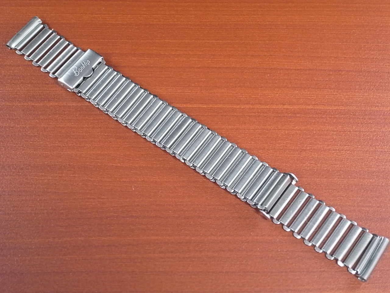 ボンクリップ バンブーブレス SS 筆記体体ロゴ 16㎜タイプ 16㎜ BONKLIPのメイン写真