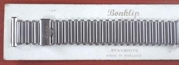 ボンクリップ バンブーブレス 筆記体ロゴ 幅広16mmタイプ 18mm