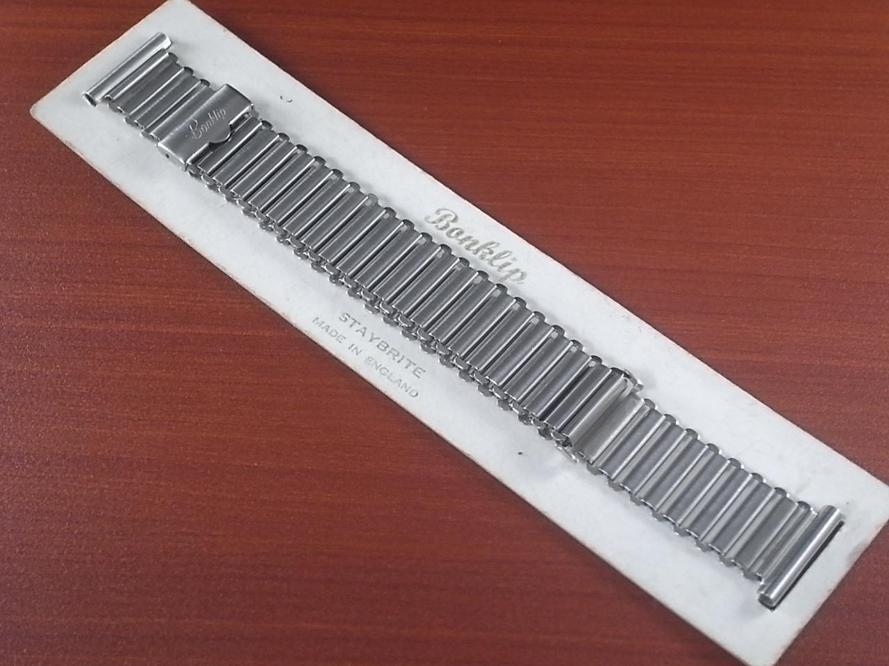 ボンクリップ バンブーブレス 筆記体ロゴ 幅広16mmタイプ 18mmのメイン写真
