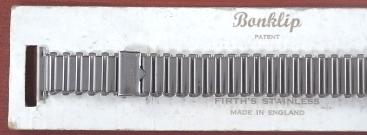 ボンクリップ バンブーブレス 筆記体ロゴ 未使用 N.O.S. 13mmタイプ 16mm