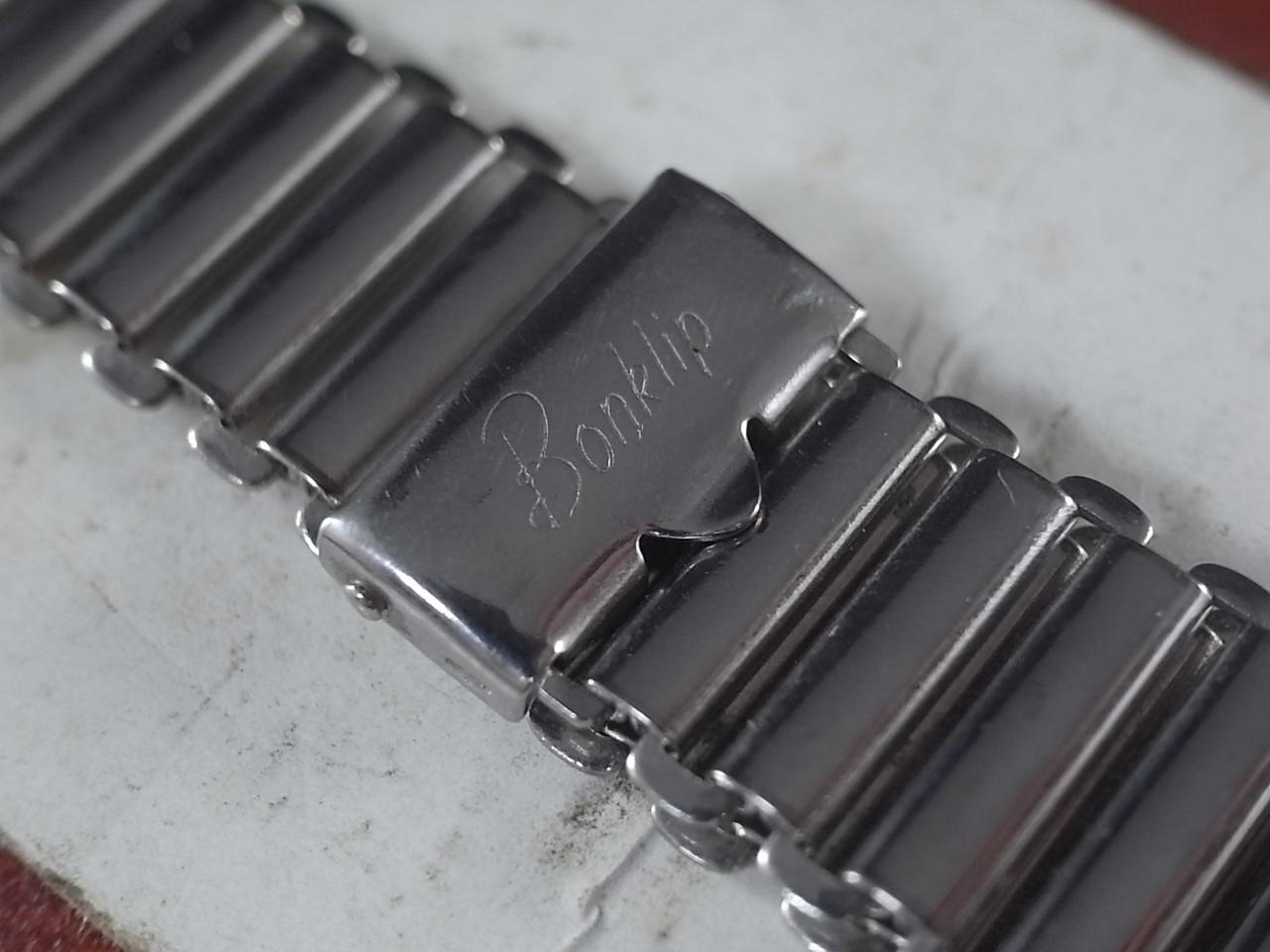 ボンクリップ バンブーブレス 筆記体ロゴ 未使用 N.O.S. 13mmタイプ 16mmの写真2枚目