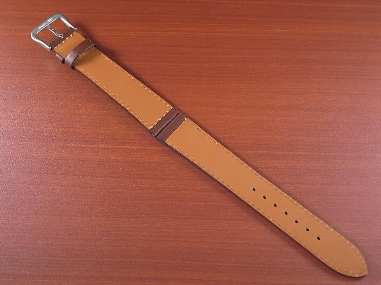 カーフ革ベルト 赤茶 18、20mm オリジナル CC-003の写真2枚目