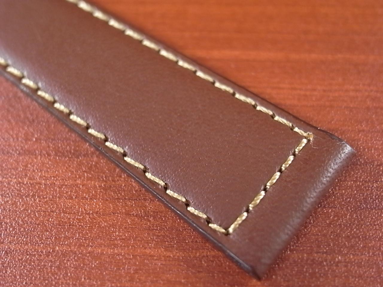 カーフ革ベルト 赤茶 18、20mm オリジナル CC-003の写真6枚目