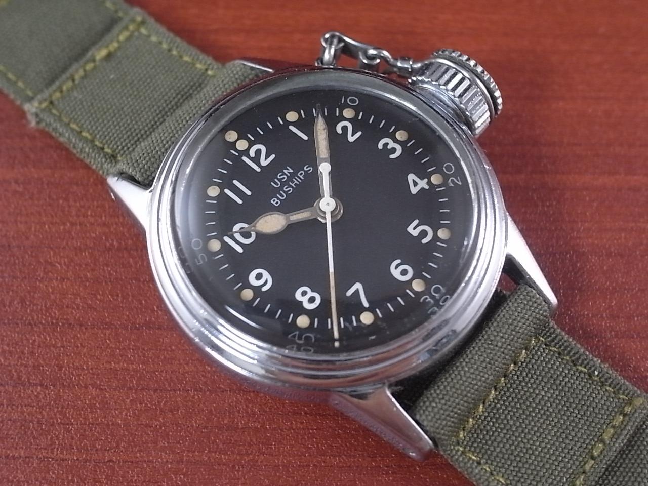 ハミルトン 軍用時計 米海軍 USN BUSHIPS 1940年代のメイン写真